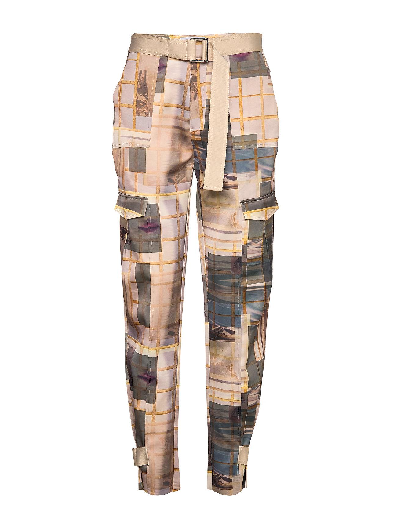 Image of Skunk Polyester 19-04 Bukser Med Lige Ben Multi/mønstret HOLZWEILER (3237675811)