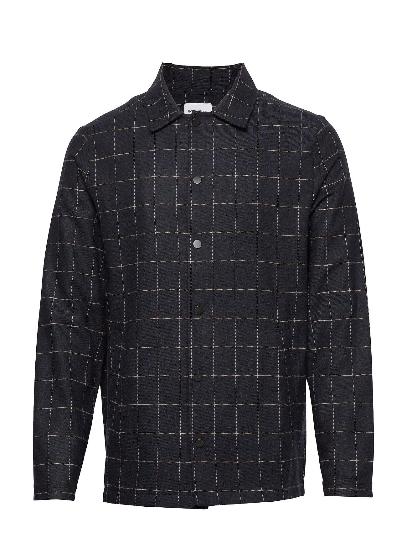 HOLZWEILER Wolf Shirt - NAVY CHECK