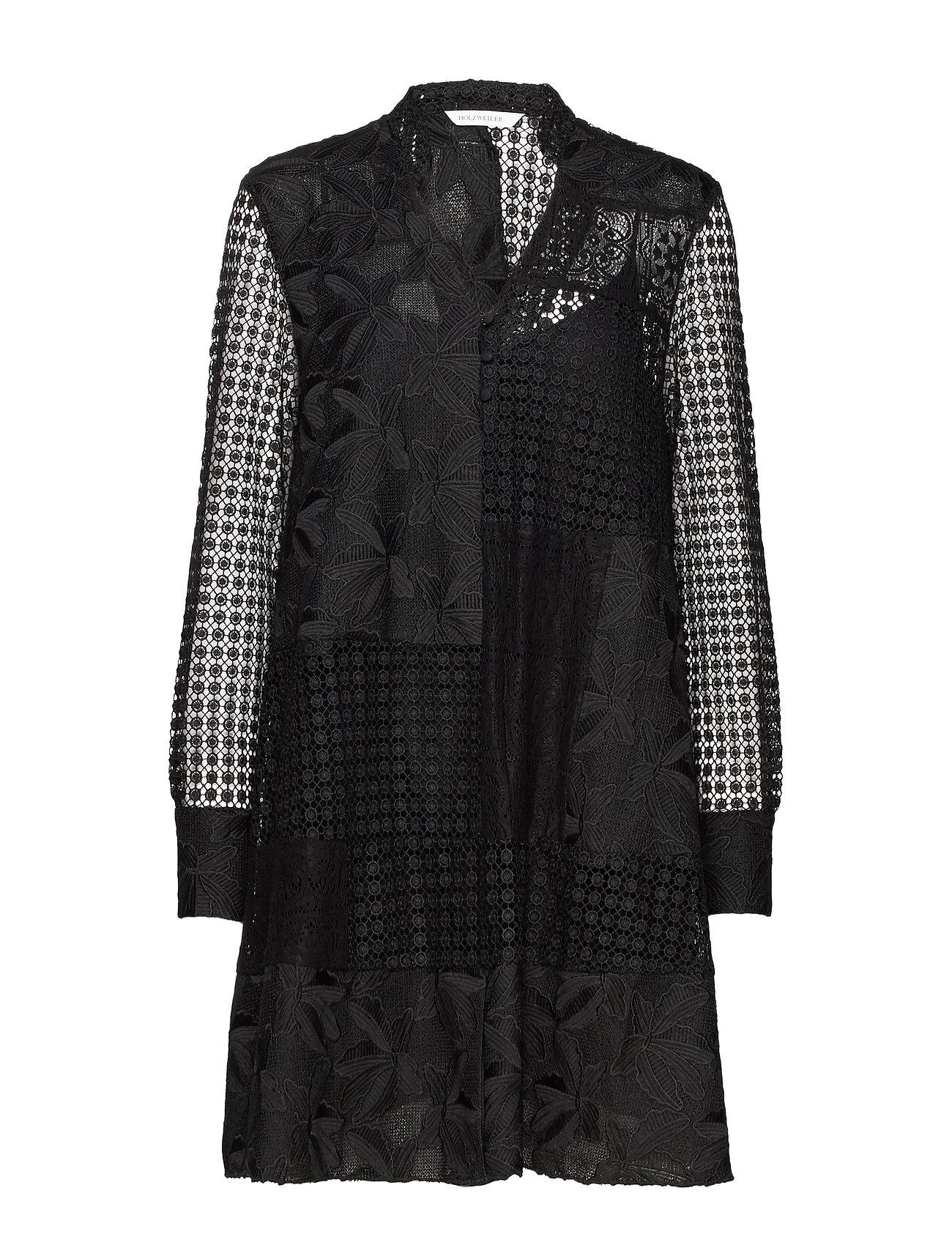 Image of Affair Dress Kort Kjole Sort HOLZWEILER (3302472865)