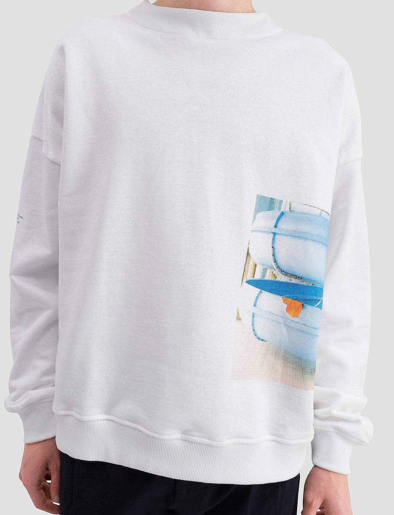 Holzweiler Toyenbadet Box Crew - Sweatshirts White