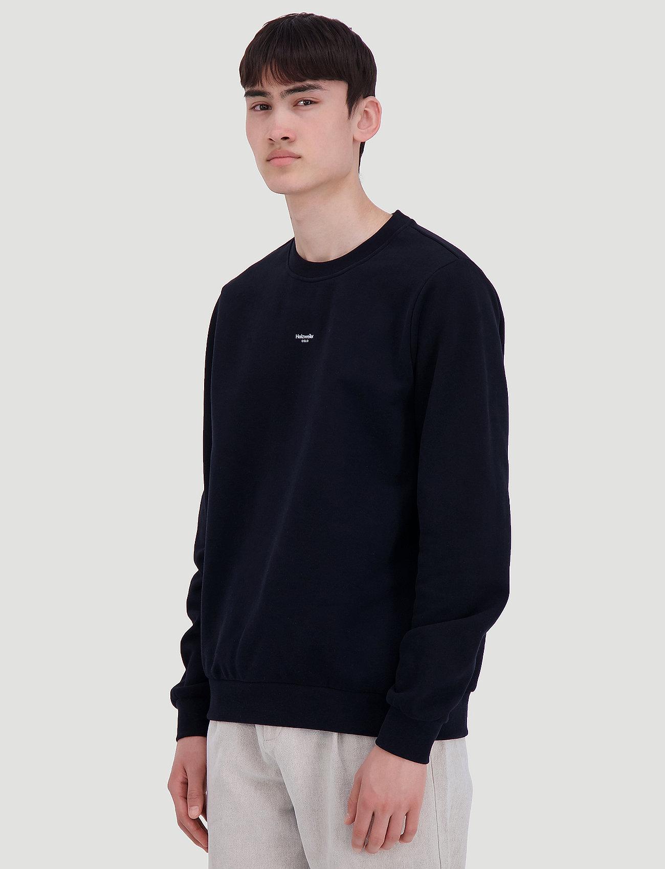 HOLZWEILER M Oslo Sweat - Sweatshirts BLACK - Menn Klær