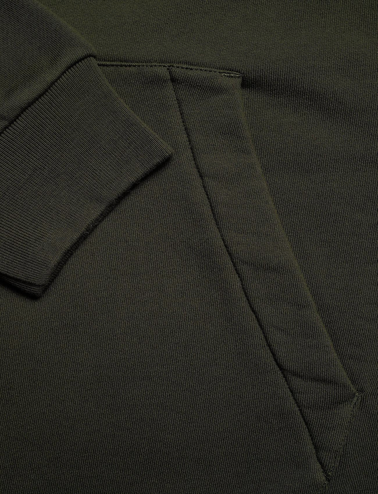 HOLZWEILER Forest Print Hoodie - Sweatshirts DARK GREEN - Menn Klær