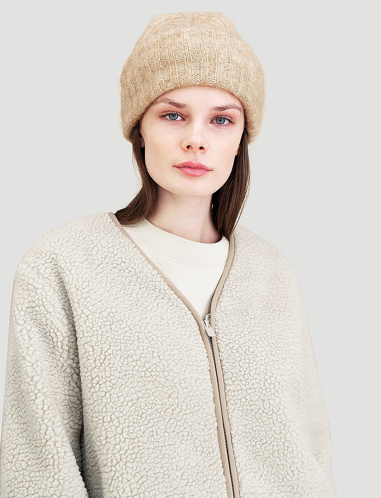 HOLZWEILER - Plog jacket - sweatshirts & hoodies - sand - 0