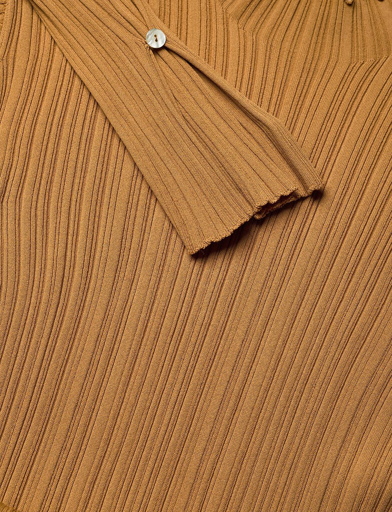 HOLZWEILER - Hadeland Knit Dress - bodycon dresses - lt. brown - 4