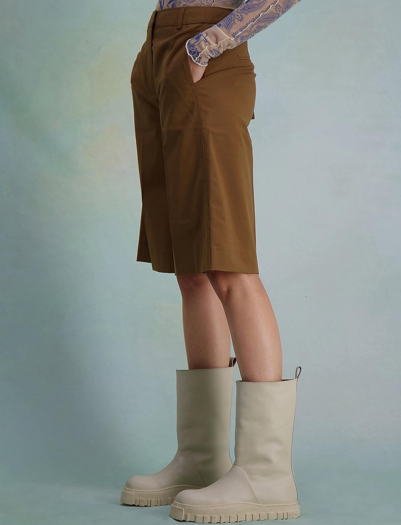 HOLZWEILER - Angela Shorts 2  - bermudas - lt. brown - 0