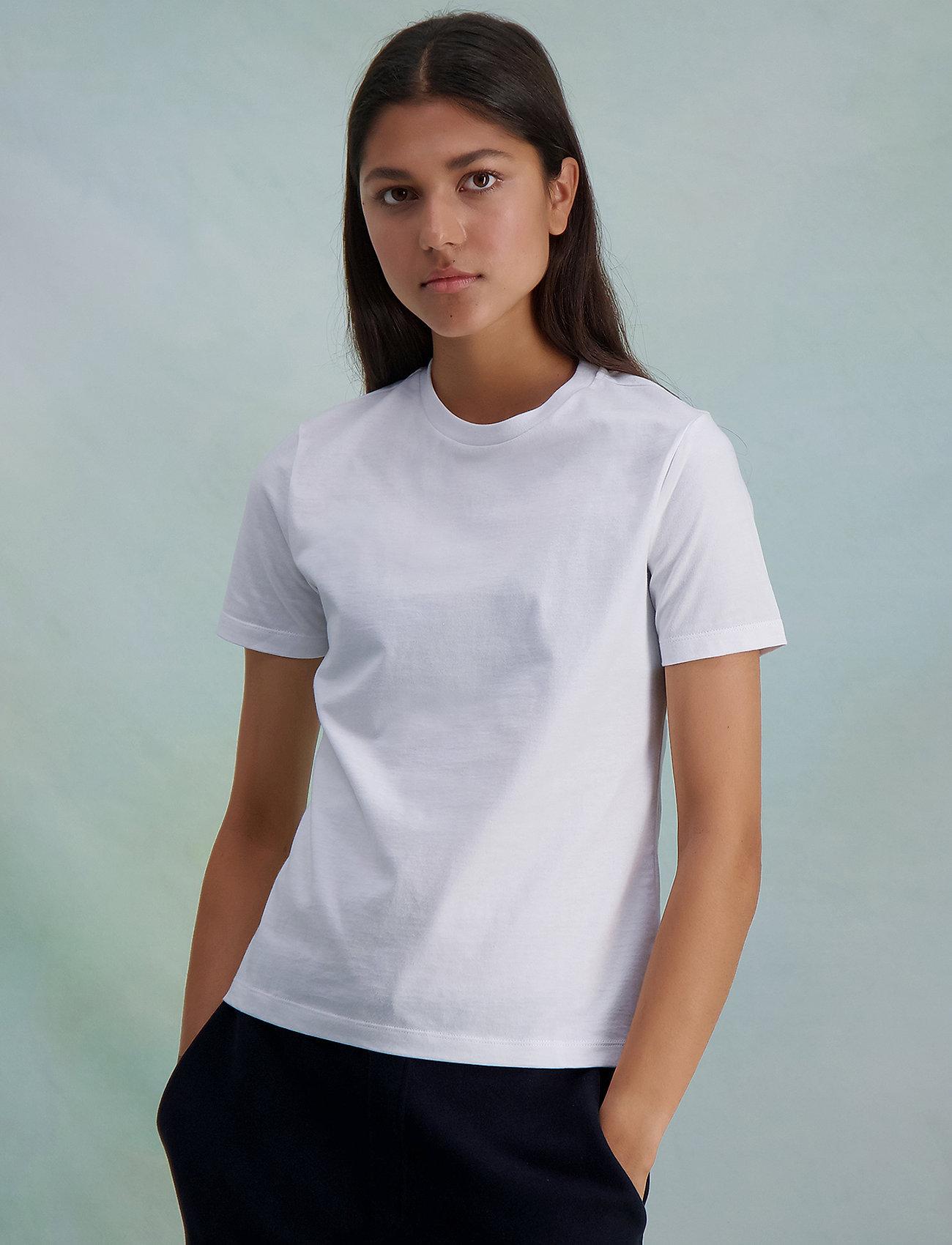 HOLZWEILER - Suzana Classic Tee - t-shirts - white - 0