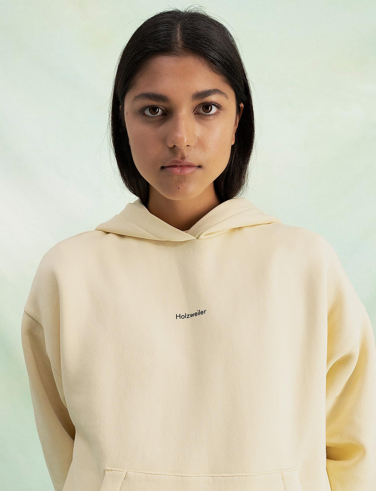 HOLZWEILER - Regular Hoodie - sweatshirts en hoodies - lt. yellow - 0