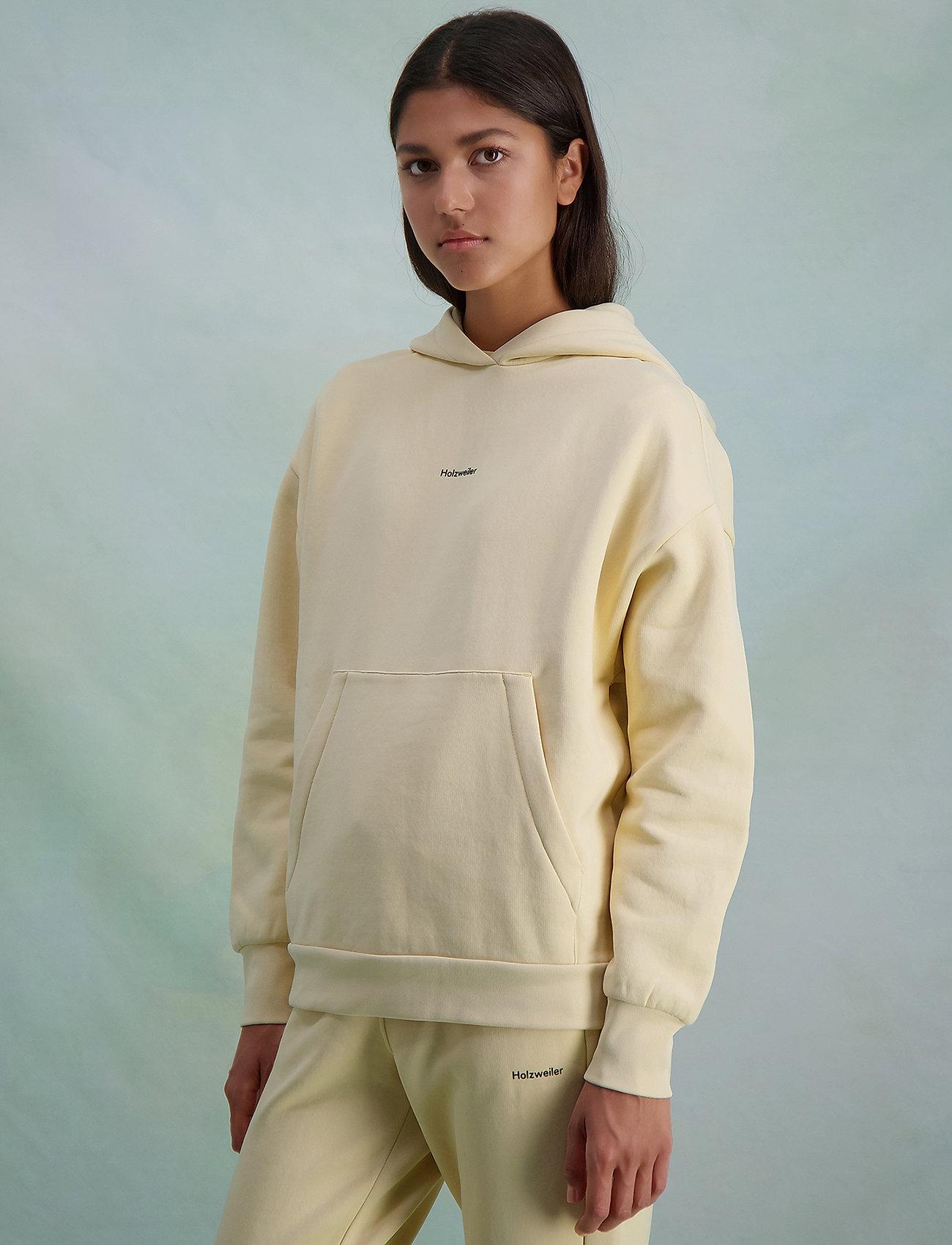 HOLZWEILER - Regular Hoodie - sweatshirts en hoodies - lt. yellow - 3