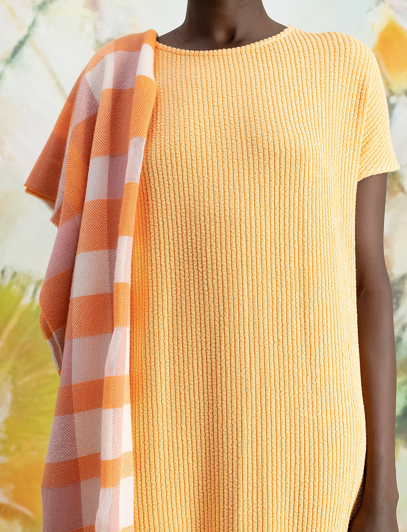 HOLZWEILER - Gate Dress - sommerkjoler - peach orange - 0
