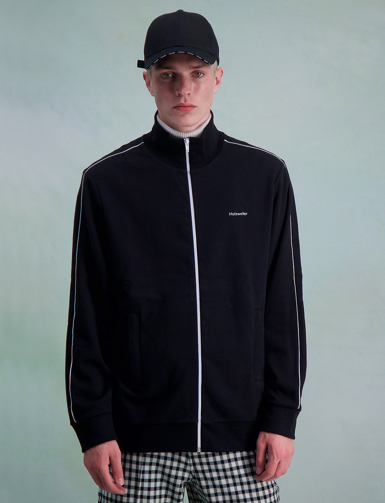 HOLZWEILER - Agave Zip Jacket - windjassen - black - 3
