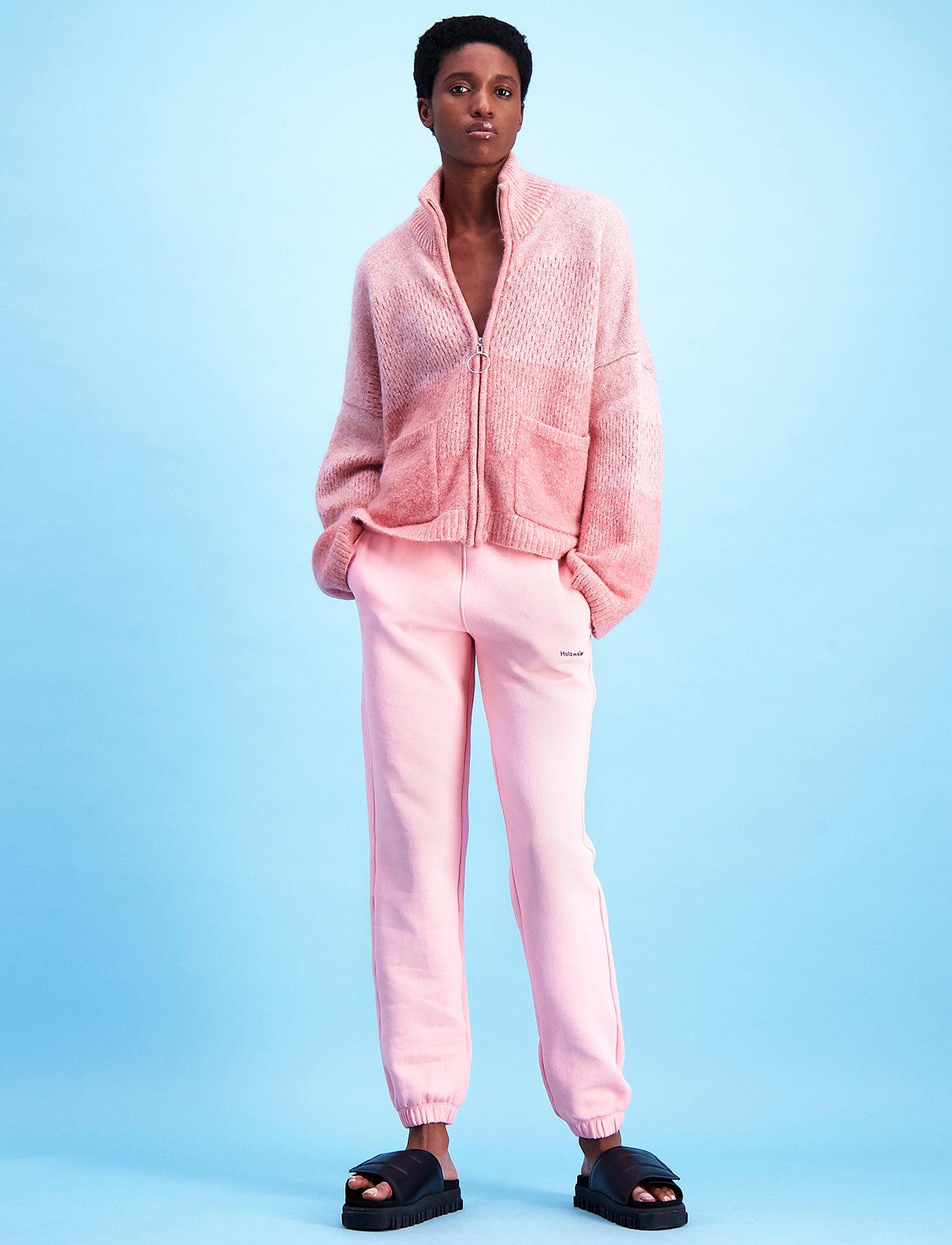 HOLZWEILER - Gabby Sweat Trouser - kleidung - lt. pink - 0