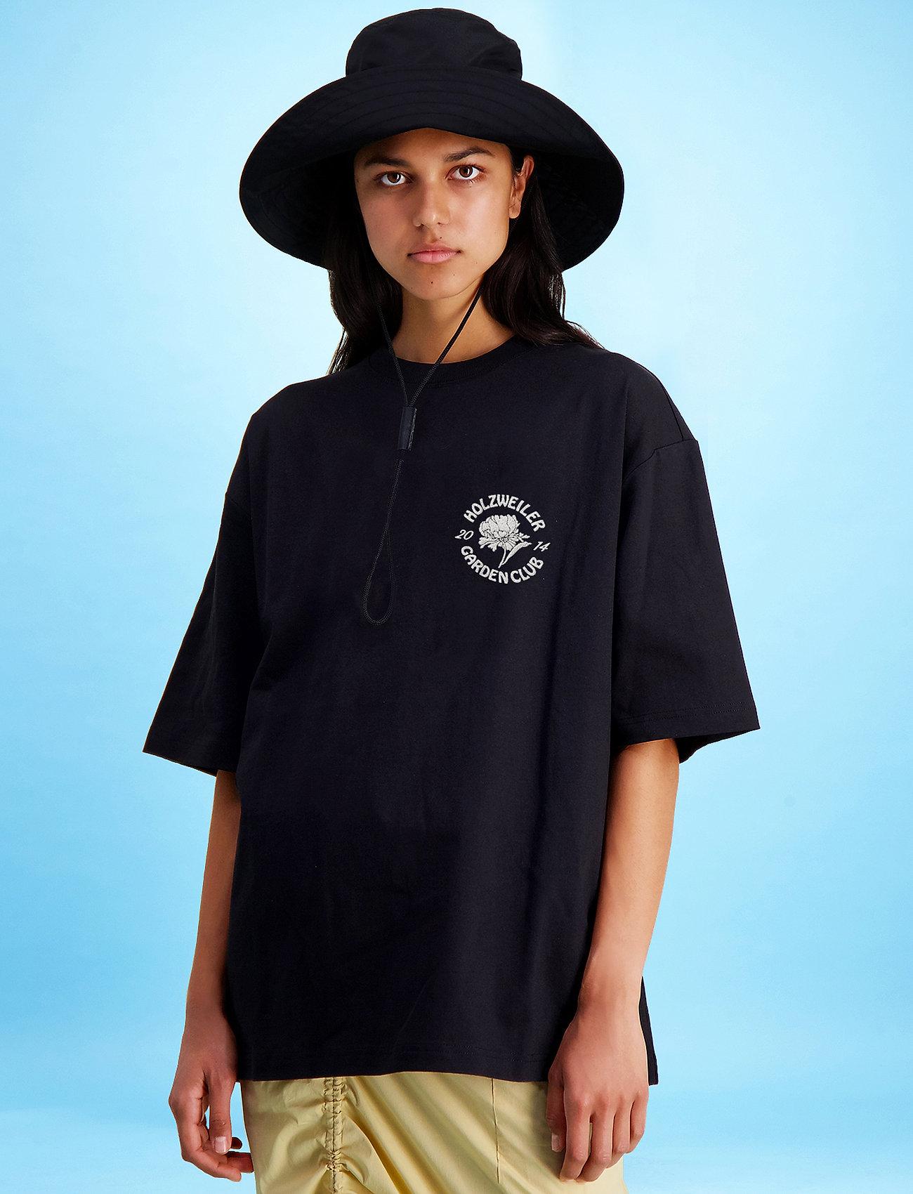 HOLZWEILER - Ranger Garden Club Tee - basic t-shirts - black - 3