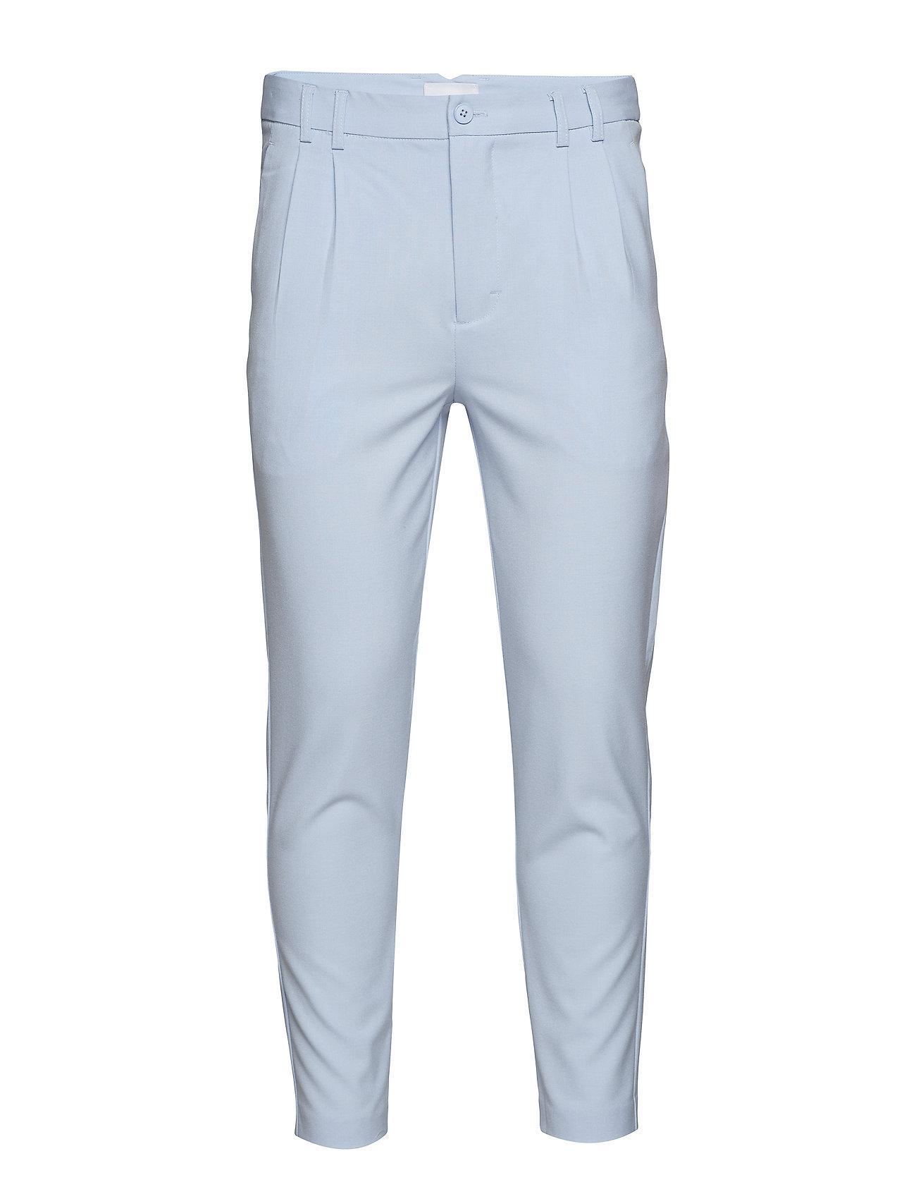 HOLZWEILER OLIVER Trousers SS19 - LIGHT BLUE
