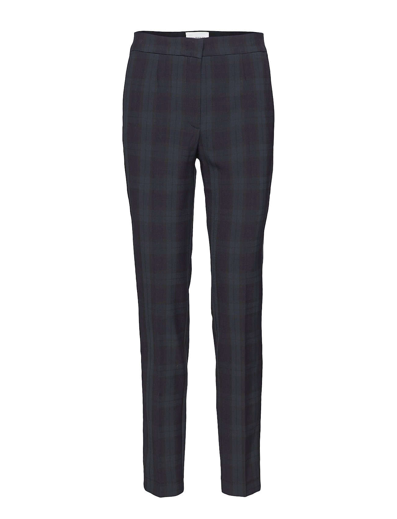 HOLZWEILER OVEDIA Trousers - BLACK CHECK