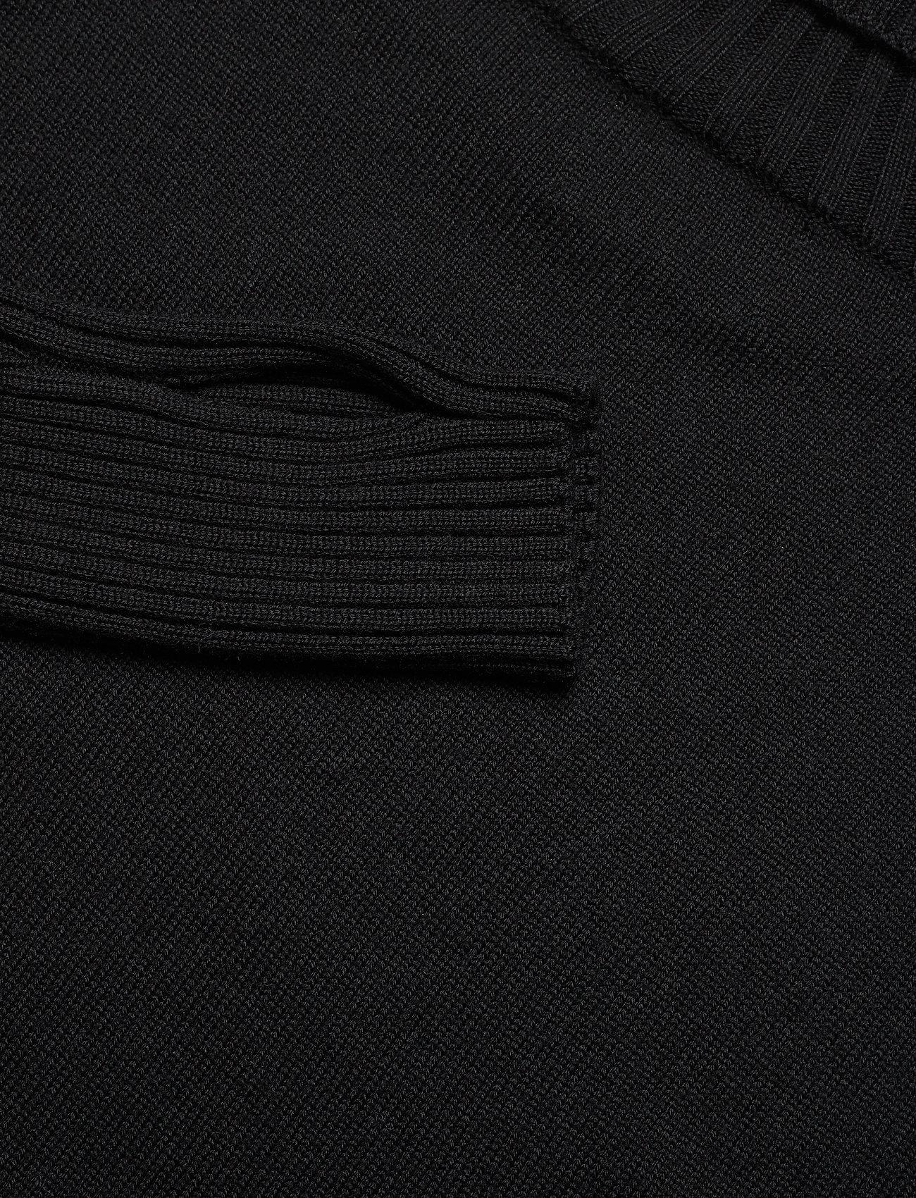 HOLZWEILER IMPRESSED Knit - Dzianina BLACK - Kobiety Odzież.