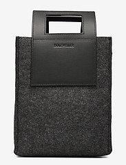 HOLZWEILER - Carry Small Bag - handbags - charcoal - 0