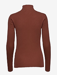 HOLZWEILER - Ebo Knit - turtlenecks - terracotta - 2