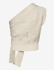 HOLZWEILER - Beagle Knit Vest - strikkede toppe - ecru - 2