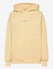 HOLZWEILER - Regular Hoodie - sweatshirts en hoodies - lt. yellow - 1