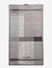 HOLZWEILER - Holzweiler Towel 40x70 - stroje plażowe - grey check - 1