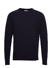 Scurfy Knit sweater - NAVY