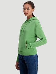 HOLZWEILER - Hang on sweat - bluzy z kapturem - green - 3