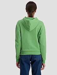 HOLZWEILER - Hang on sweat - bluzy z kapturem - green - 4