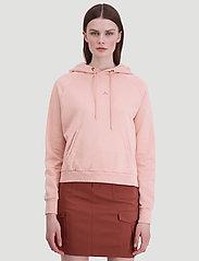 HOLZWEILER - Hang On Vintage - bluzy z kapturem - washed pink - 3