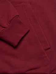 HOLZWEILER - Placebo Print Hoodie - sweatshirts & hættetrøjer - burgundy flower print - 6