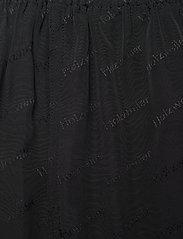 HOLZWEILER - Luka Trouser - bukser med brede ben - black text - 4