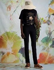 HOLZWEILER - Sira Black Trouser - slim fit bukser - black - 3