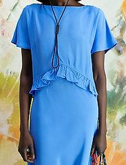HOLZWEILER - Tanya Dress - evening dresses - blue - 0