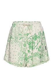 Musan Sweat Shorts  - GREEN MIX