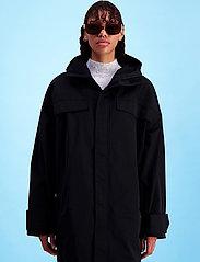 HOLZWEILER - Kiellands Jacket - manteaux de pluie - black - 0