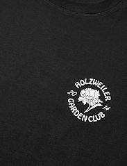 HOLZWEILER - Ranger Garden Club Tee - basic t-shirts - black - 4