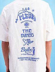 HOLZWEILER - Ranger Garden Club Tee - basic t-shirts - ecru - 3