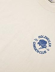 HOLZWEILER - Ranger Garden Club Tee - basic t-shirts - ecru - 4