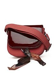 BOUQUET Blocked Mini Bag - BURGUNDY MIX