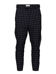 HERMAN Trousers - NAVY CHECK