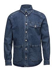 KYLE Shirtjacket - LIGHT BLUE
