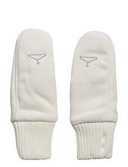 COMMITTED Mitten - WHITE
