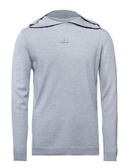 SUBLIME Knit-Light Grey Melange - LIGHT GREY MELANGE