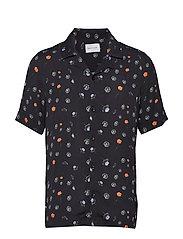 BO Print Shirt - BLACK