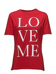 LOVE Tee - Love Me - RED