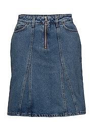 BRIDGET Denim Skirt - LT INDIGO