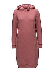 HANG LOOSE Dress - RED MELANGE