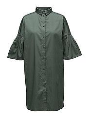 HENRIKKE Shirt Dress - TEAL