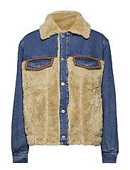MASTODONE Jacket - BLUE BLOCKED