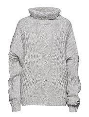 WILDHORSE Knit - LIGHT GREY MELANGE