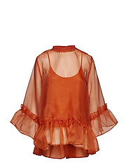 CURVING Top - MECCA ORANGE